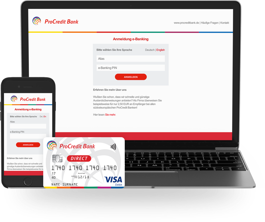 ProCredit Bank Direct, the Bank made simple